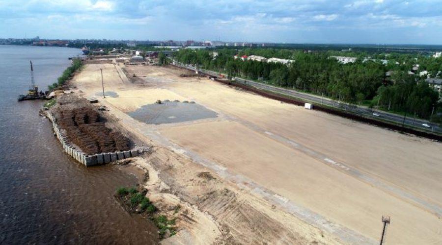 Проект нового завода ООО «Регион-лес» в Архангельске